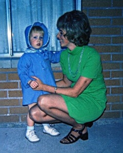 Cindy and her mom, Bonnie in 1973
